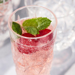 Picnic Champagne Glass // Set of 4