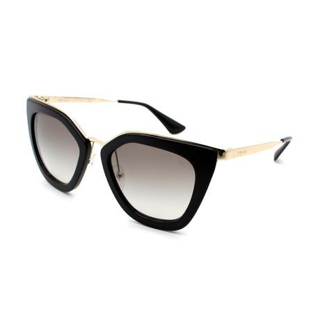 Prada // Women's PR53SS-1AB0A7 Cat Eye Sunglasses // Gold Gradient