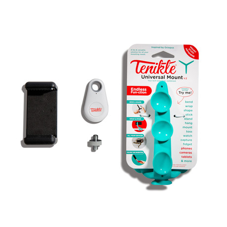 Tenikle 2.0 + Shutterbug Bluetooth Clicker (Teal)
