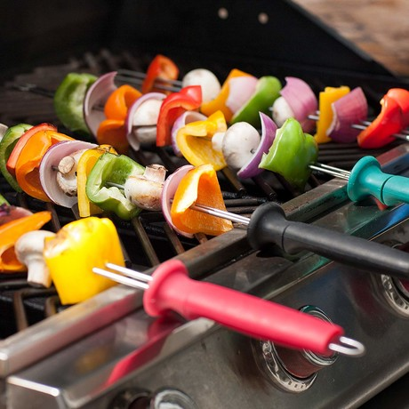 Deluxe Grill Skewers // Set of 4