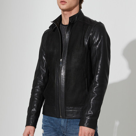 Marmaris Leather Jacket // Black (2XL)
