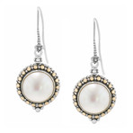 Women's Mabe Pearl Earrings
