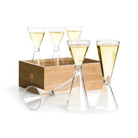 Nature Shot Glass Set + Storage Box // Set of 6