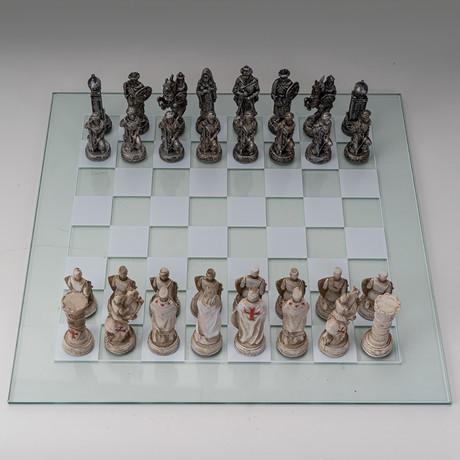Crusaders Vs Ottomans Chess Set