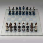 Air Force Vs Marines Chess Set