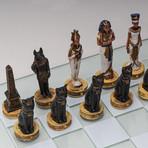 Romans Vs Egyptians Chess Set