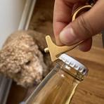 Safest Touch Brass Keychain (Single)