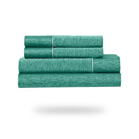 Ver-Tex® Sheet Set // Jade (Queen)