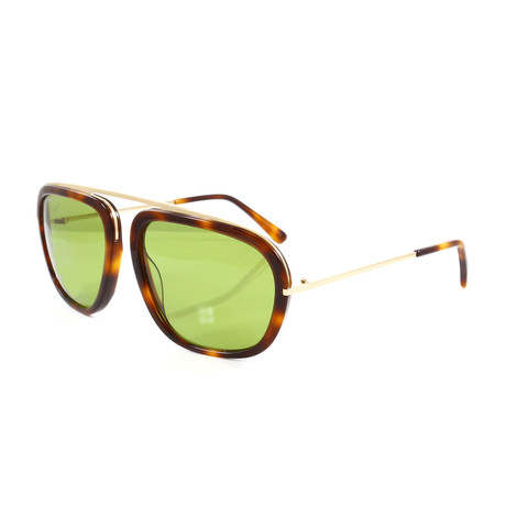 Men's FT0453S Sunglasses // Havana + Gold