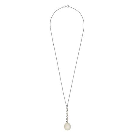 Assael 18k White Gold Diamond + South Sea Pearl Necklace II