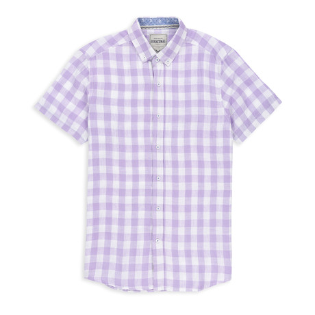 Check Sport Shirt // Lavender (S)