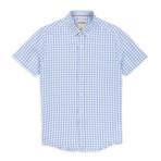 Vichy Check Sport Shirt // Light Blue (M)