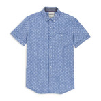 Anchor Print Sport Shirt // Chambray (2XL)