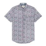 Floral Sport Shirt // Navy (S)