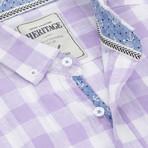 Check Sport Shirt // Lavender (S)