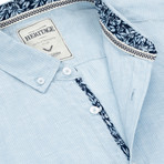 Stripe Sport Shirt // Light Blue (XL)