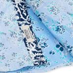 Reverse Garden Floral Print Sport Shirt // Blue (2XL)