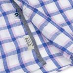 Check Sport Shirt // Royal Blue (S)