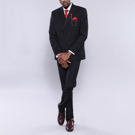 Noah 2-Piece Slim Fit Suit // Black (Euro: 44)