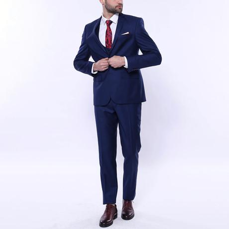 Levi 3-Piece Slim Fit Suit // Navy (Euro: 44)