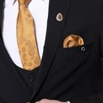 Aaron 3-Piece Slim Fit Suit // Black (Euro: 44)
