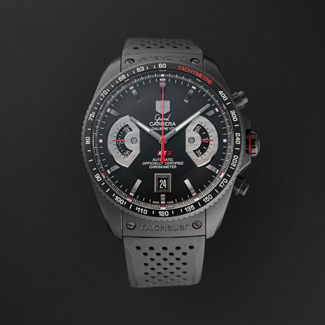 Tag Heuer Grand Carrera Chronograph Automatic // CAV518B // Store Display
