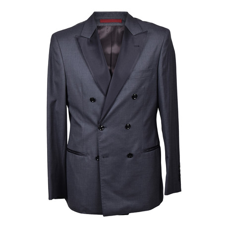Brunello Cucinelli // Harvey Tuxedo Suit // Dark Gray (Euro: 46)