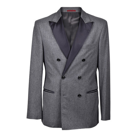 Brunello Cucinelli // Blake Tuxedo Suit // Dark Gray (Euro: 46)