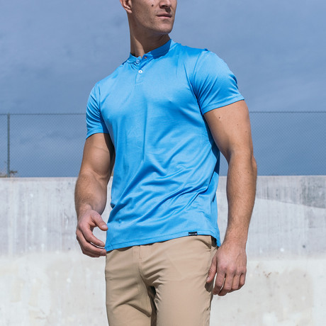 Stealth Polo // Blue (Small)
