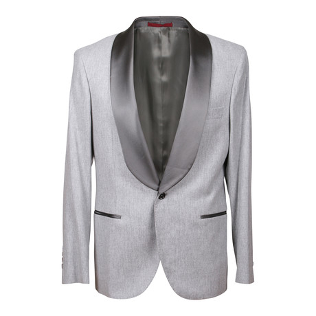Brunello Cucinelli // Michael Tuxedo Suit // Light Gray (Euro: 46)