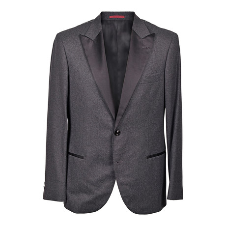Brunello Cucinelli // Clarence Tuxedo Suit // Charcoal Gray (Euro: 46)