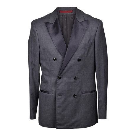 Brunello Cucinelli // Gustavo Tuxedo Suit // Dark Gray (Euro: 46)