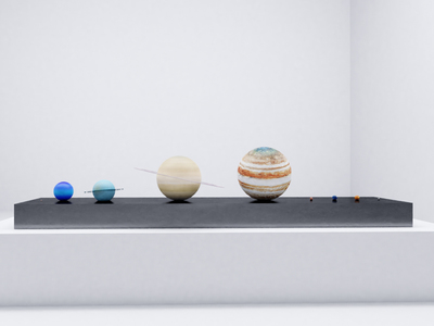 photo of Solar System To-Scale Set by Touch Of Modern