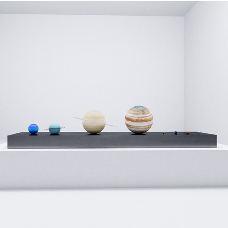 Solar System To-Scale Set