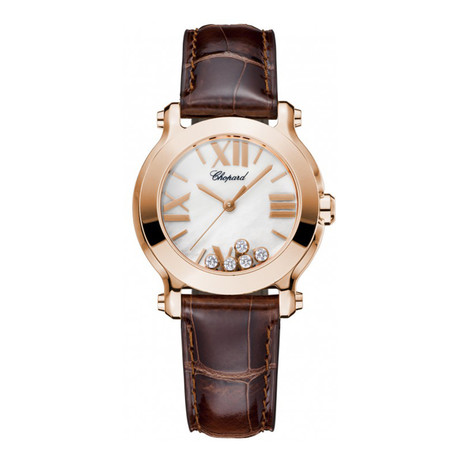 Chopard Ladies Happy Sport Round Quartz // 274189-5001