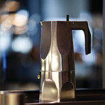 Ossidiana Espresso Coffee Maker // Stainless Steel (1 Cup)