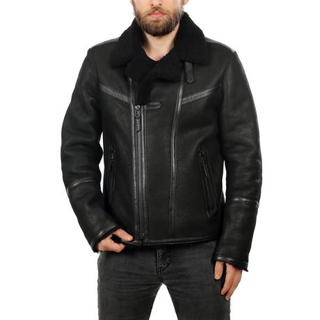 Velez Leather Jacket // Black (XS)
