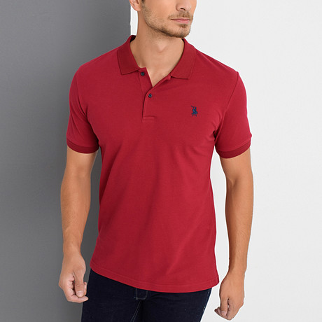 Ken Polo // Burgundy (Small)