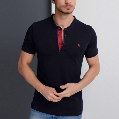 Jase Polo // Dark Blue (Small)