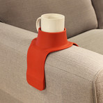 CouchCoaster // Red // Set of 1