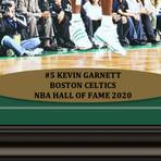 Kevin Garnett // Signed + Framed Celtics Photo