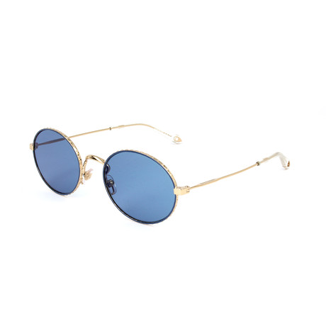 Women's 7090 Sunglasses // Gold + Blue