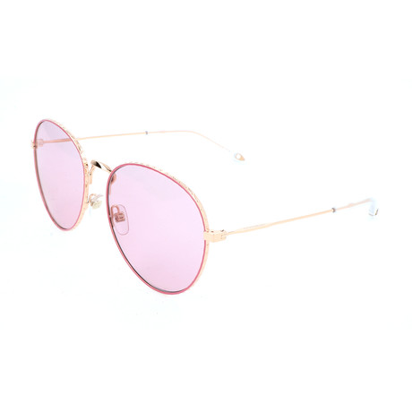 Women's 7089 Sunglasses // Gold Pink + Violet