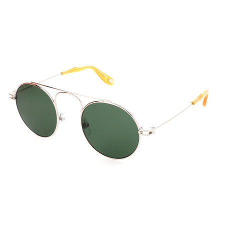 Men's 7054 Sunglasses // Palladium + Green