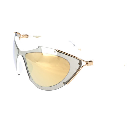 Givenchy // Unisex 7013 Sunglasses // Gold + White + Gray