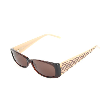 Women's 566E Sunglasses // Black Havana + Brown