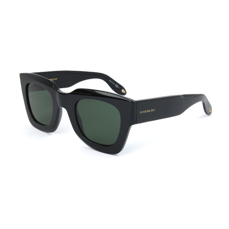 Men's 7061 Sunglasses // Black + Green