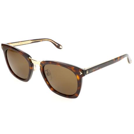 Men's 7065 Sunglasses // Brown Havana + Brown