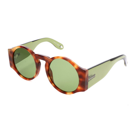 Women's 7056 Sunglasses // Havana Brown + Green