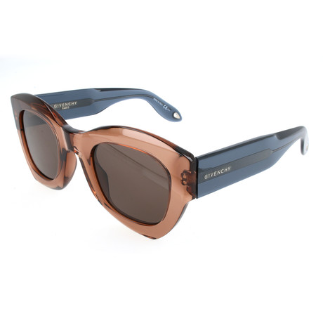 Unisex 7060 Sunglasses // Beige + Brown
